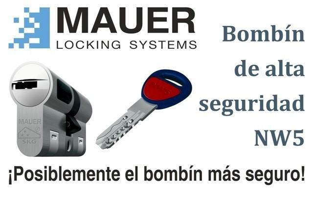 Bombines de seguridad mauer nw5 y mul t lock mt5 for Mejor bombin de seguridad